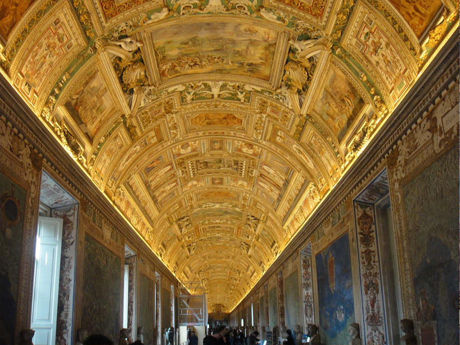 The Maps Room, Vatican Museums