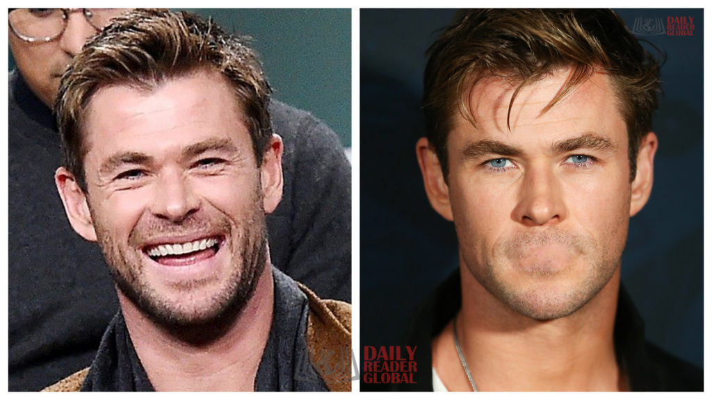 chris hemsworth without a mouth - celebrities without mouths