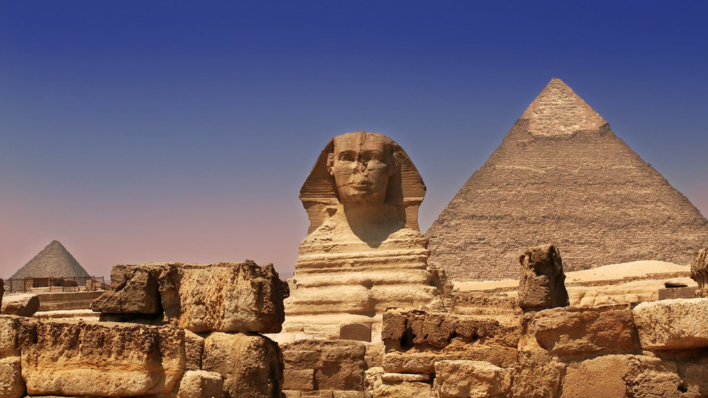 The Great Pyramid of Giza, Egypt - most popular tourist attractions in the world 2020