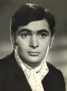 Late Rishi Kapoor when he was young