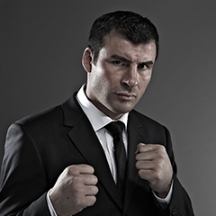 Undefeated boxer Joe Calzaghe
