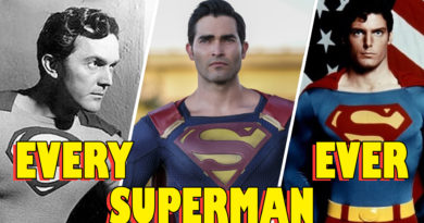 Every Superman Actor ever