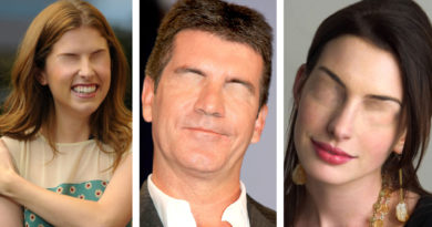 celebrities without eyes 2020
