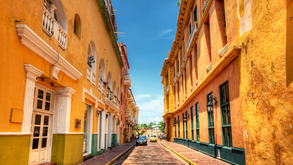 One of the Most Popular Tourist Attractions in Colombia Cartagena city.