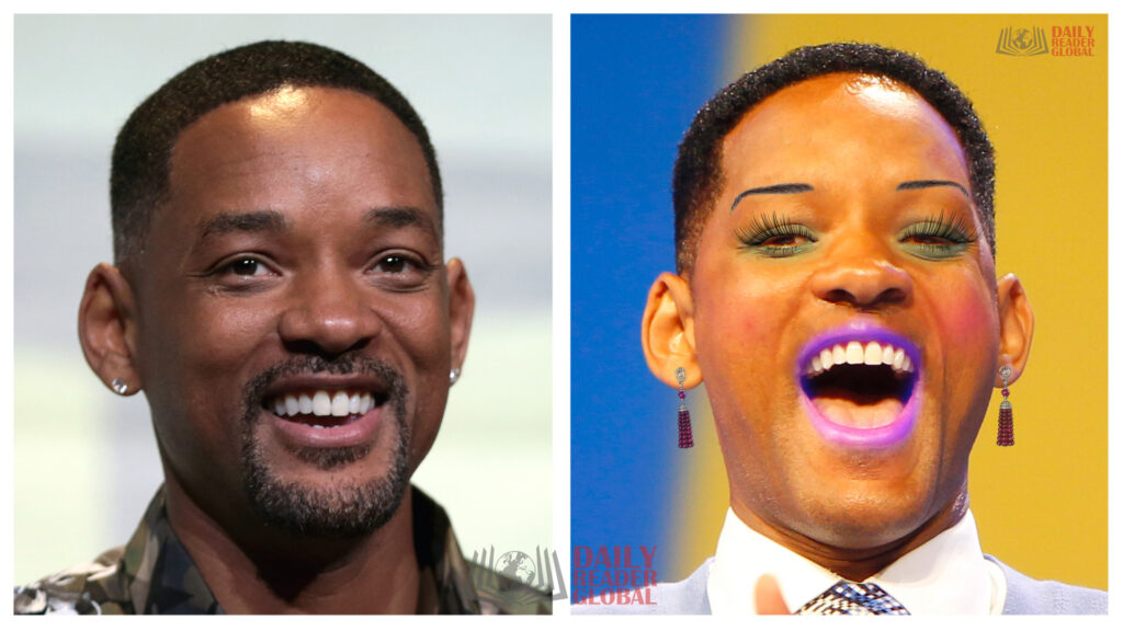 Will Smith wearing makeup