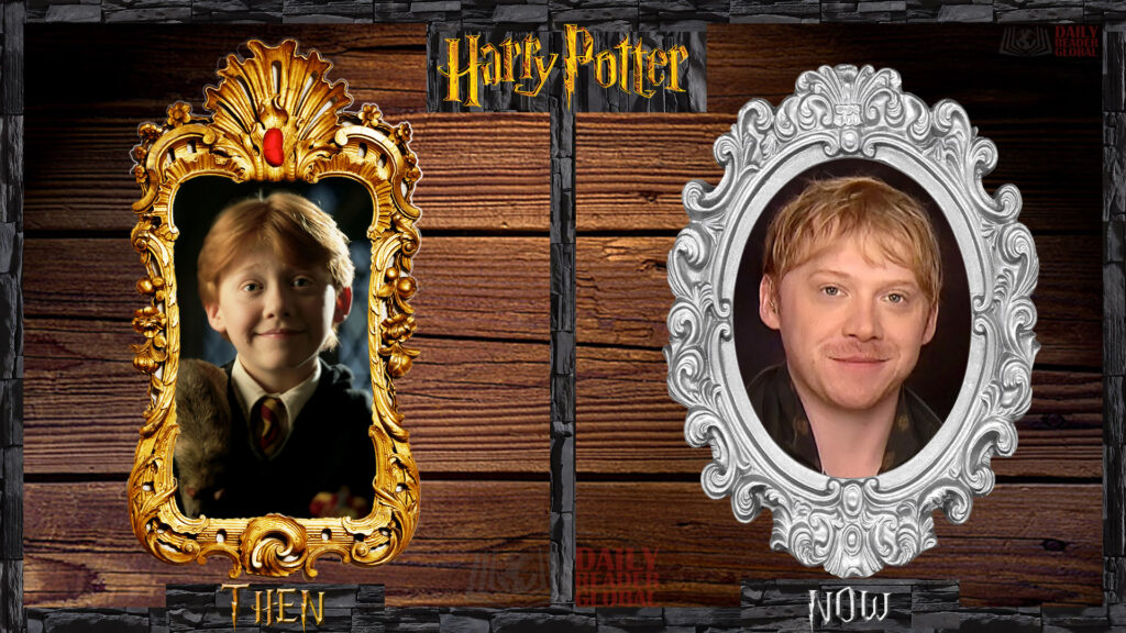 What is Ron Weasley - Rupert Grint doing now?