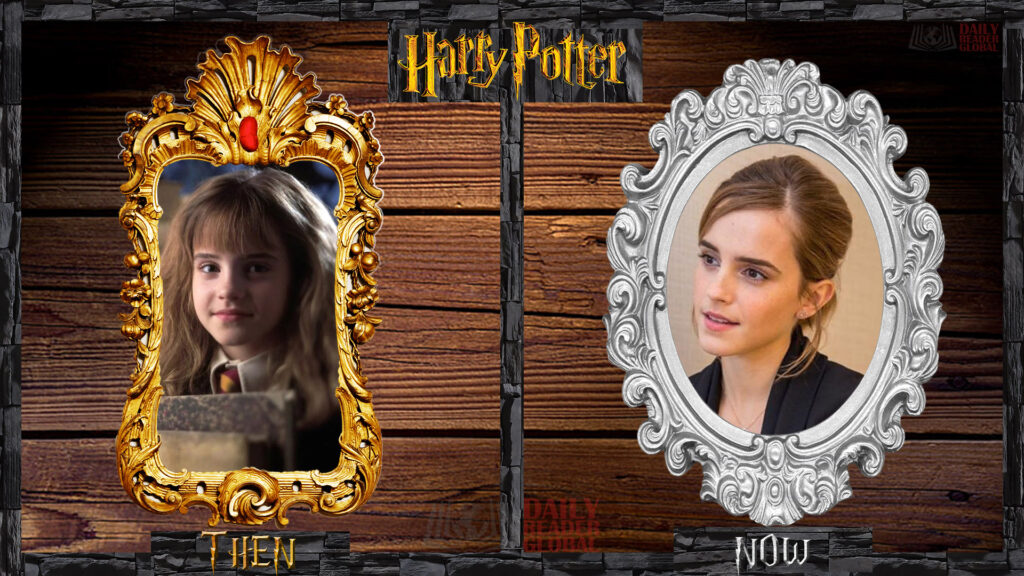 Harry Potter cast THEN and NOW 2020 Hermione Granger - Emma Watson