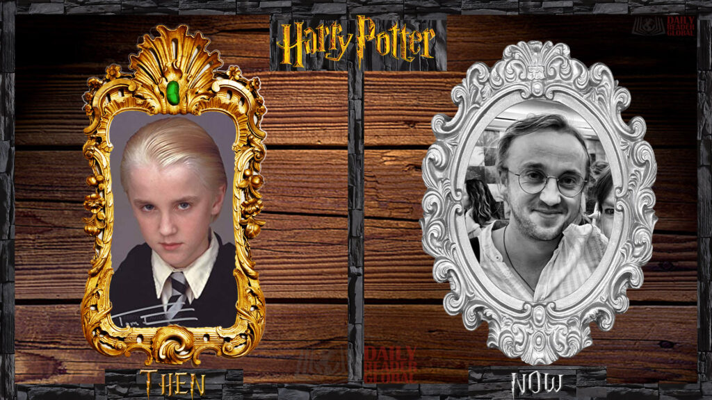 What is Draco Malfoy - Tom Felton doing now?