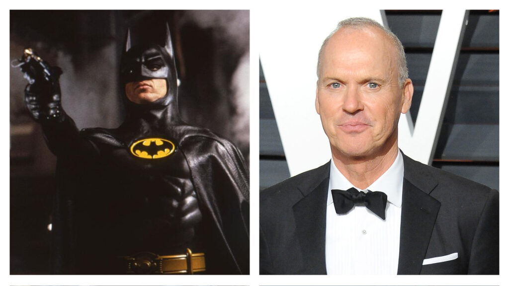 Michael Keaton as Batman - Full List of Actors who have Played Batman