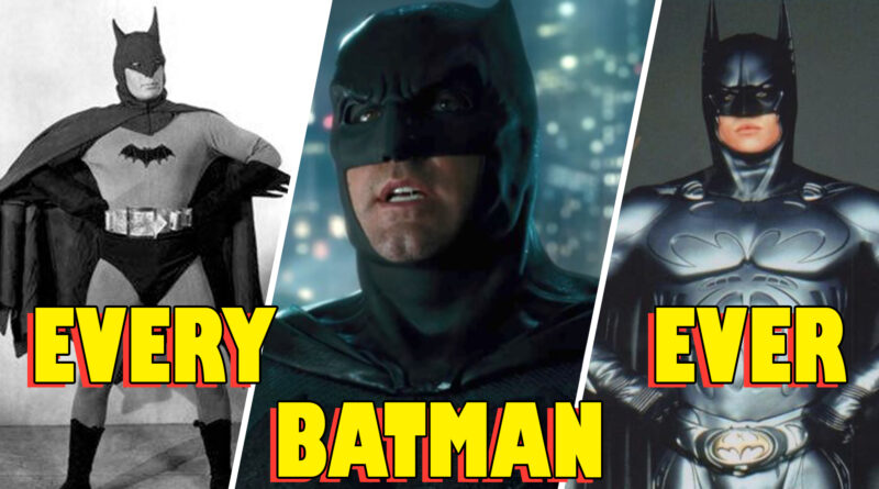 Full list of actors who have played Batman